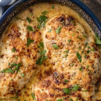 BAKED CAESAR CHICKEN RECIPE