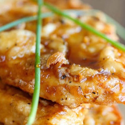 Crispy Honey Garlic Chicken 1