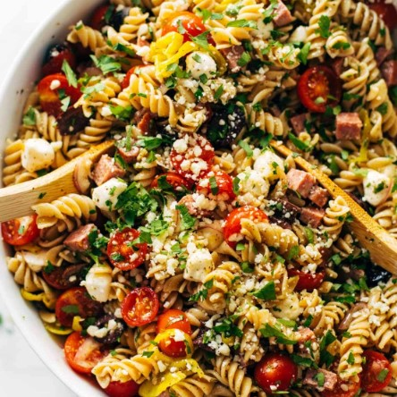 The Best Easy Italian Pasta Salad