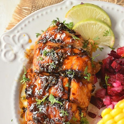 The Best Grilled Cilantro Lime Chicken