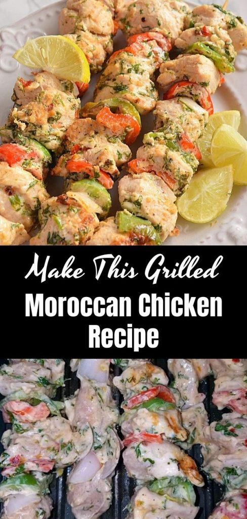Make This Grilled Moroccan Chicken Recipe 1