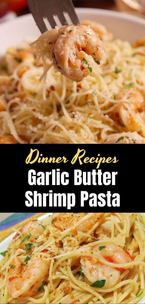 Garlic Butter Shrimp Pasta 1