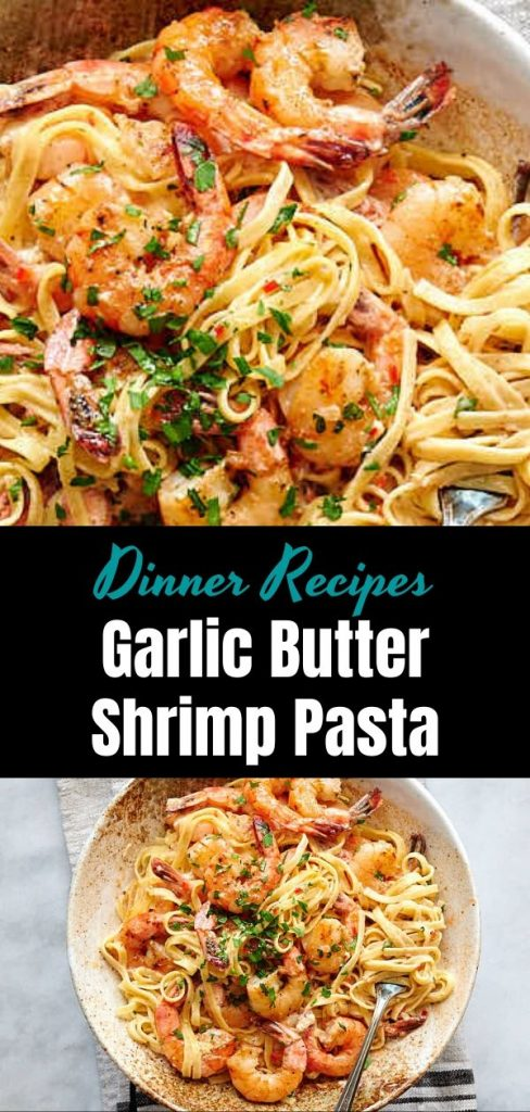Garlic Butter Shrimp Pasta 2