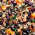 Cranberry Pecan Sweet Potato Wild Rice Pilaf