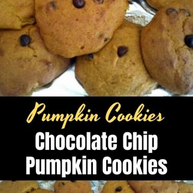 Chocolate Chip Pumpkin Cookies (1)