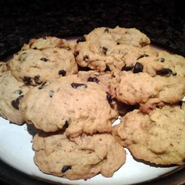 Pumpkin Chocolate Chip Cookies (1)