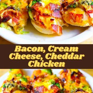 Bacon, Cream Cheese, Cheddar Chicken (2)