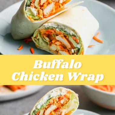 Buffalo Chicken Wrap (3)