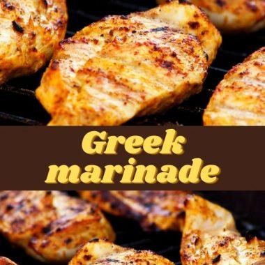 Greek marinade