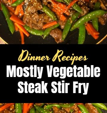 Mostly Vegetable Steak Stir Fry 4