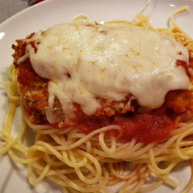 OVEN BAKED CHICKEN PARMESAN (1)