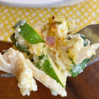 Rotisserie Chicken & Zucchini Casserole
