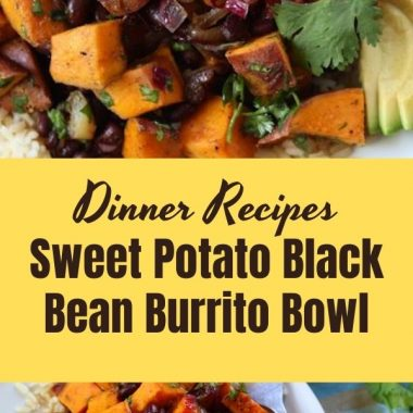 Sweet Potato Black Bean Burrito Bowl (2)