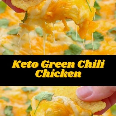 Keto Green Chili Chicken #dinner