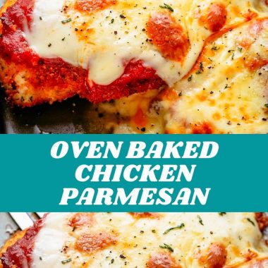 OVEN BAKED CHICKEN PARMESAN #bestrecipes #latestrecipes #newrecipes