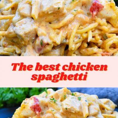 The best chicken spaghetti