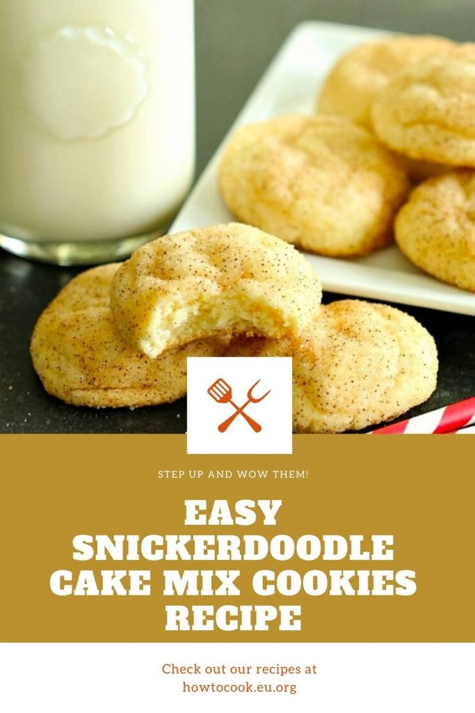 Easy Snickerdoodle Cake Mix Cookies Recipe (2)
