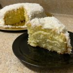 Easy and Moist Coconut Cake