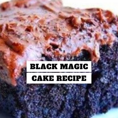 Black Magic Cake Recipe #Black #Magic #Cake #Recipe