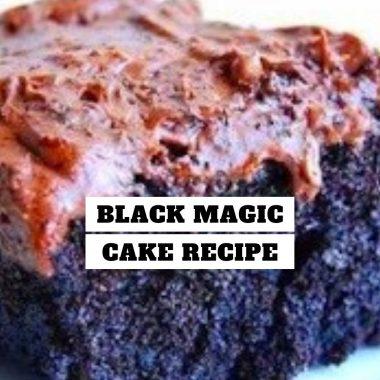 Black Magic Cake Recipe #Black #Magic #Cake #Recipe