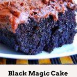 Black Magic Cake Recipe #Black #Magic #CakeRecipe