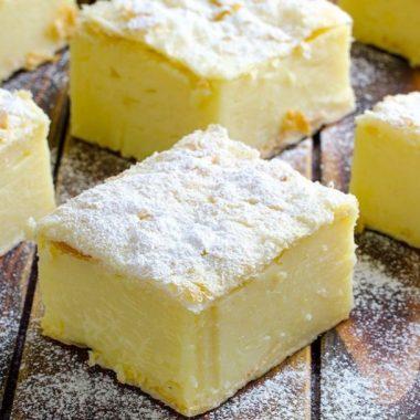 Easy Soft and Creamy Vanilla Custard Slice Recipe